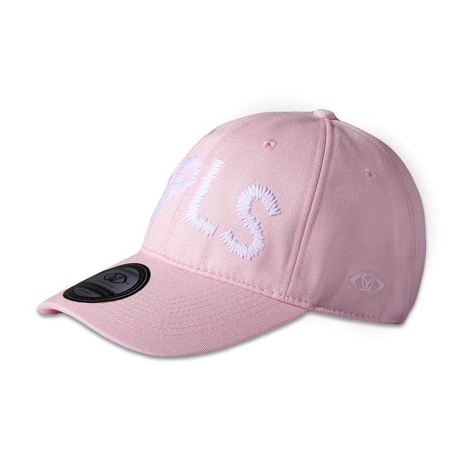 LARGE PRINT POLO CAP - PINK