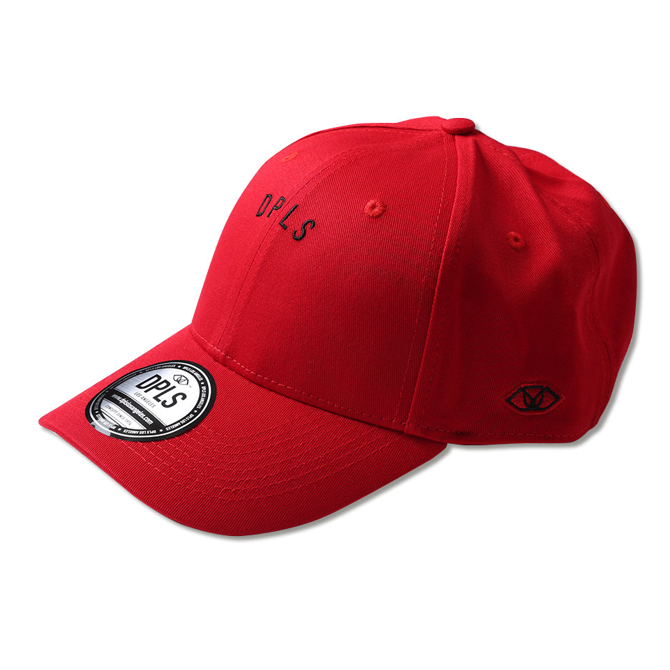 MICRO PRINT POLO CAP - RED