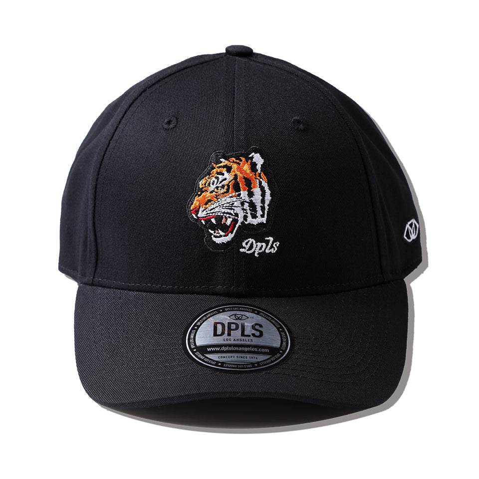 DPLS TIGER POLO CAP - BLACK