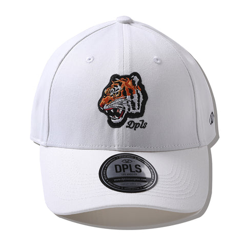 DPLS TIGER POLO CAP - WHITE