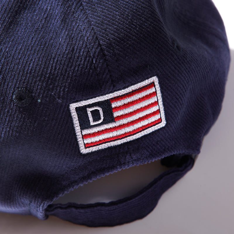 THROWBACK POLO CAP - NAVY/GREEN (1472510296135)