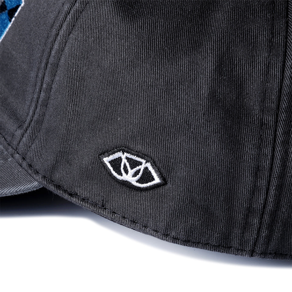 CMYK POLO CAP - BLACK
