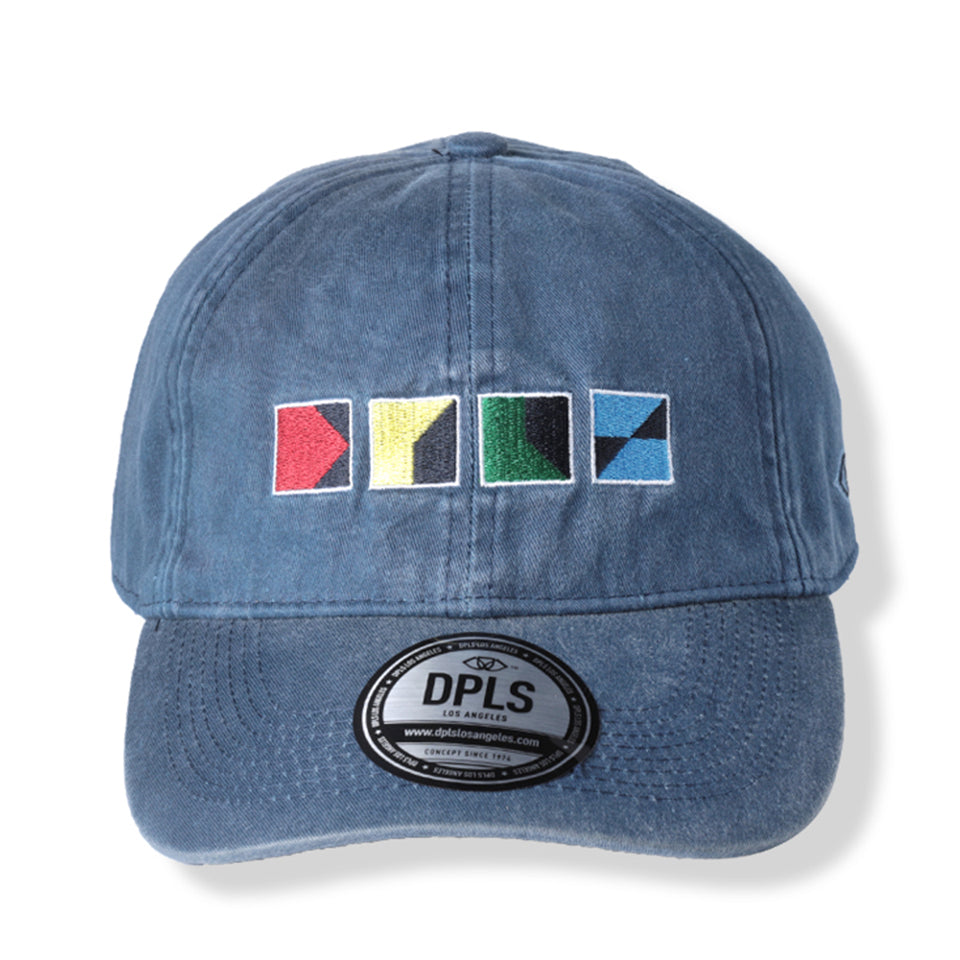 CMYK POLO CAP - BLUE