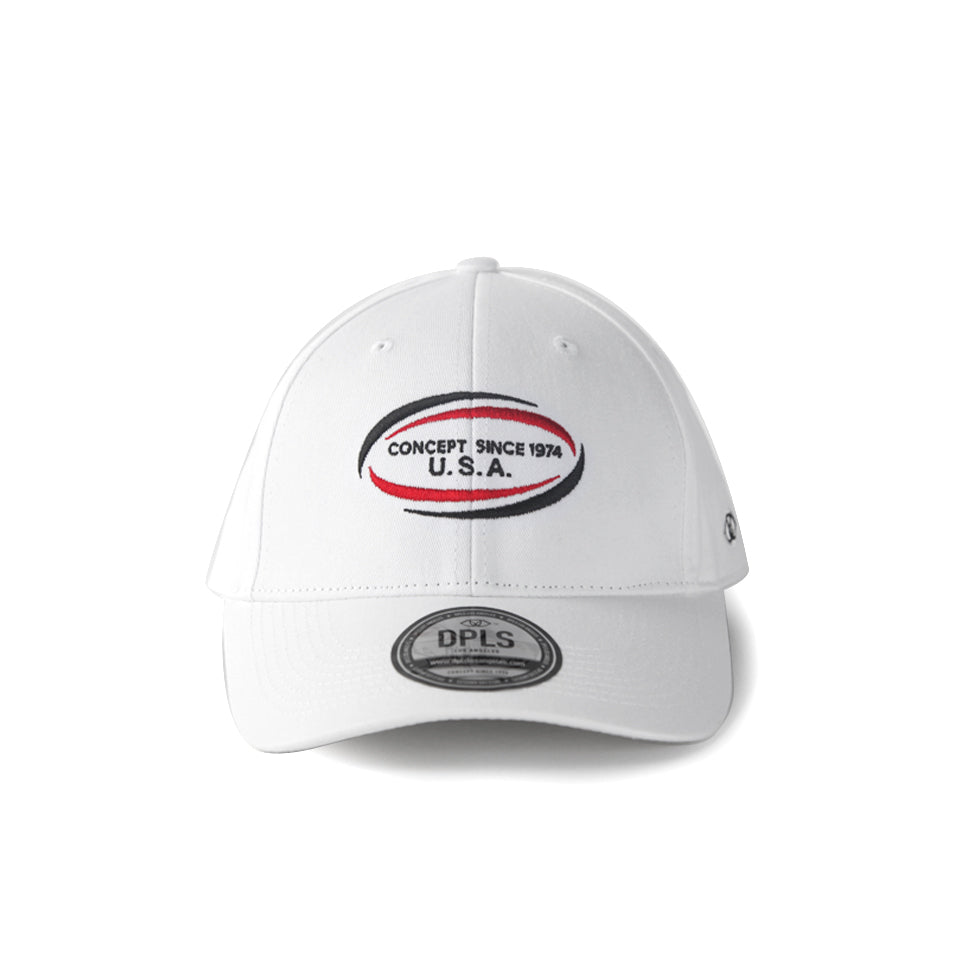 1974 UNIFORM POLO CAP -WHITE