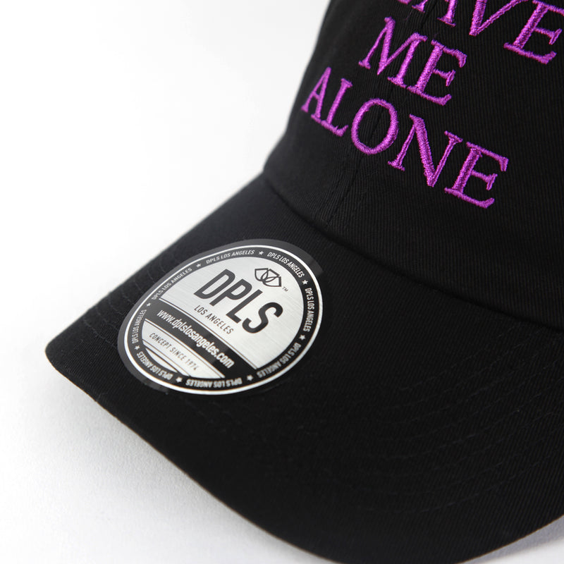 LMA POLO CAP - BLACK