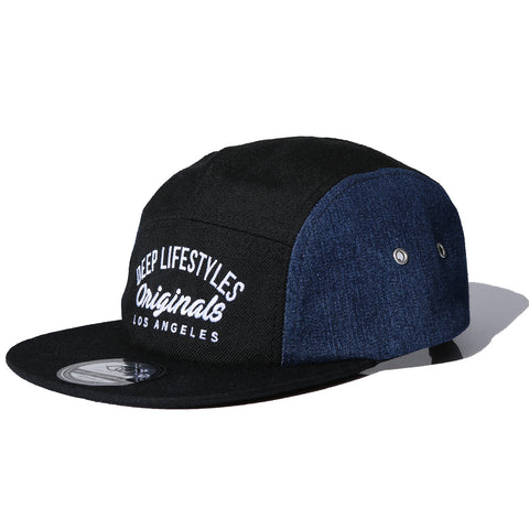 SALOME CAMPER HAT - DENIM