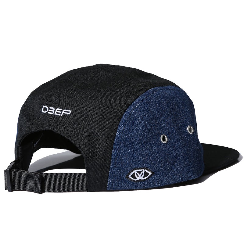 SALOME CAMPER HAT - DENIM (9019105606)