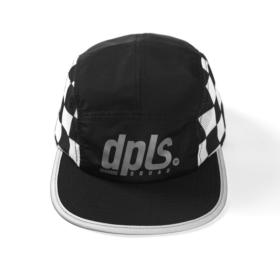 DPLS CHECKER CAMPER - BLACK