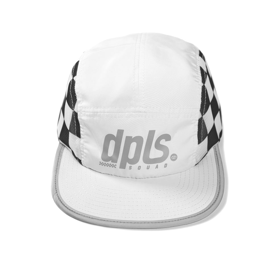 DPLS CHECKER CAMPER - WHITE