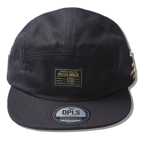 BASIC CAMPER HAT - BLACK