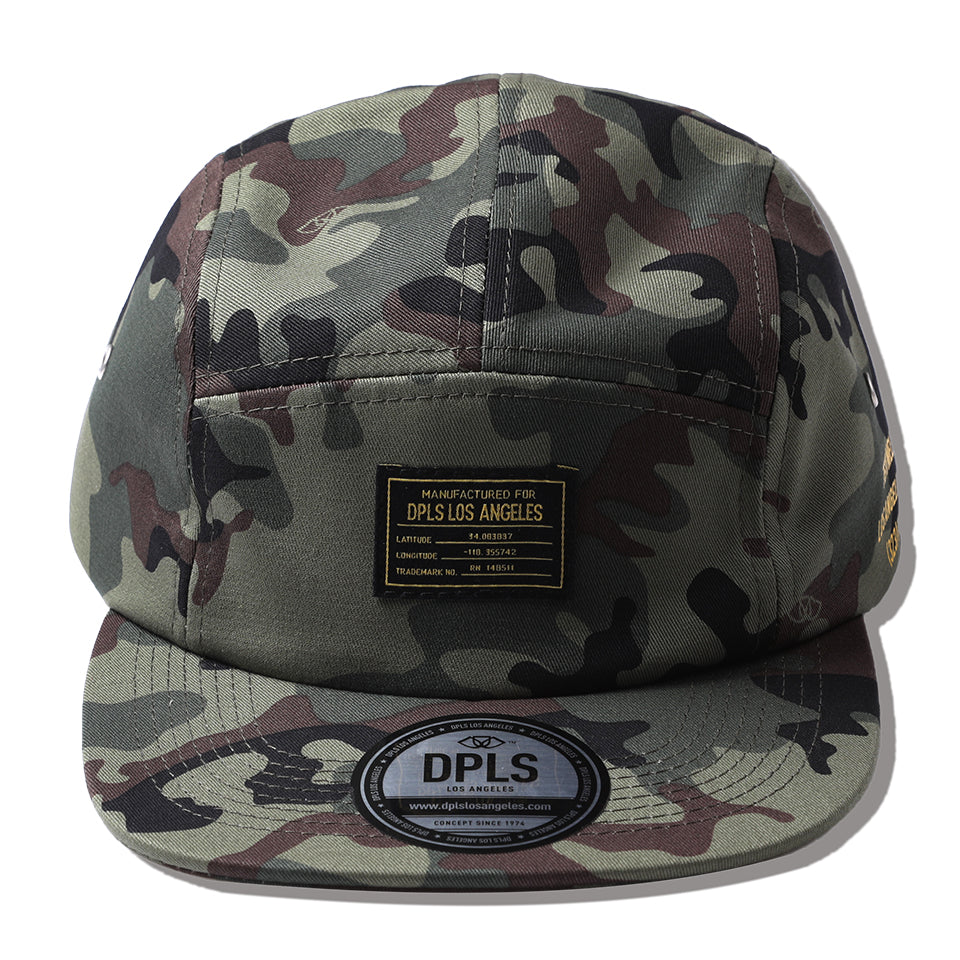 BASIC CAMPER HAT - OLIVE (1482386178119)