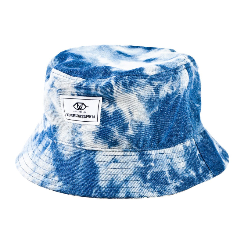 Reversible Denim Cloud Alegra Bucket Hat