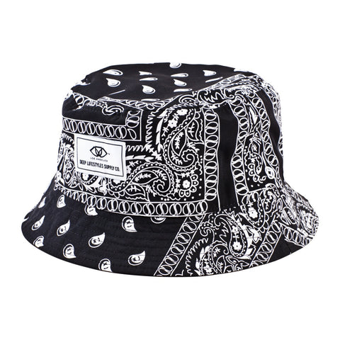 TAJ BUCKET HAT - BLACK
