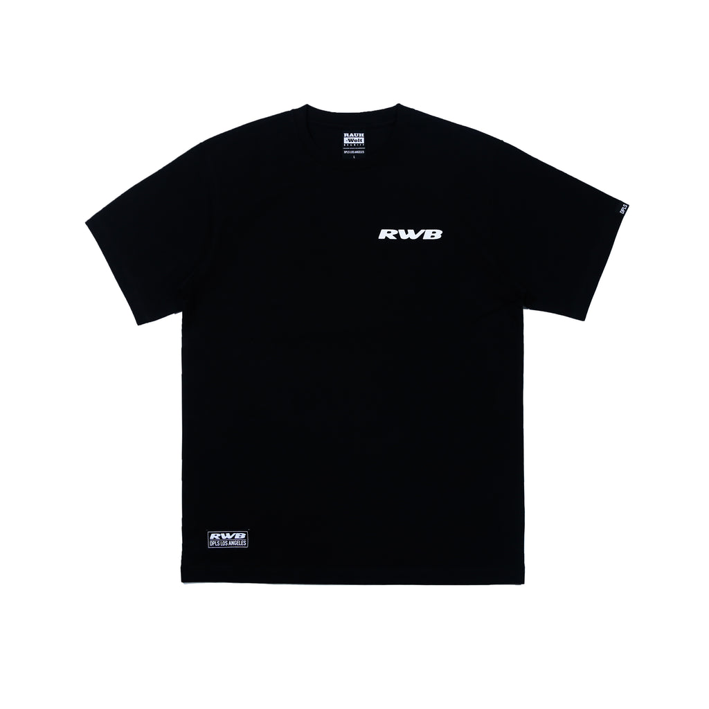 DPLS x RWB TEE (LIMITED EDITION) - BLACK
