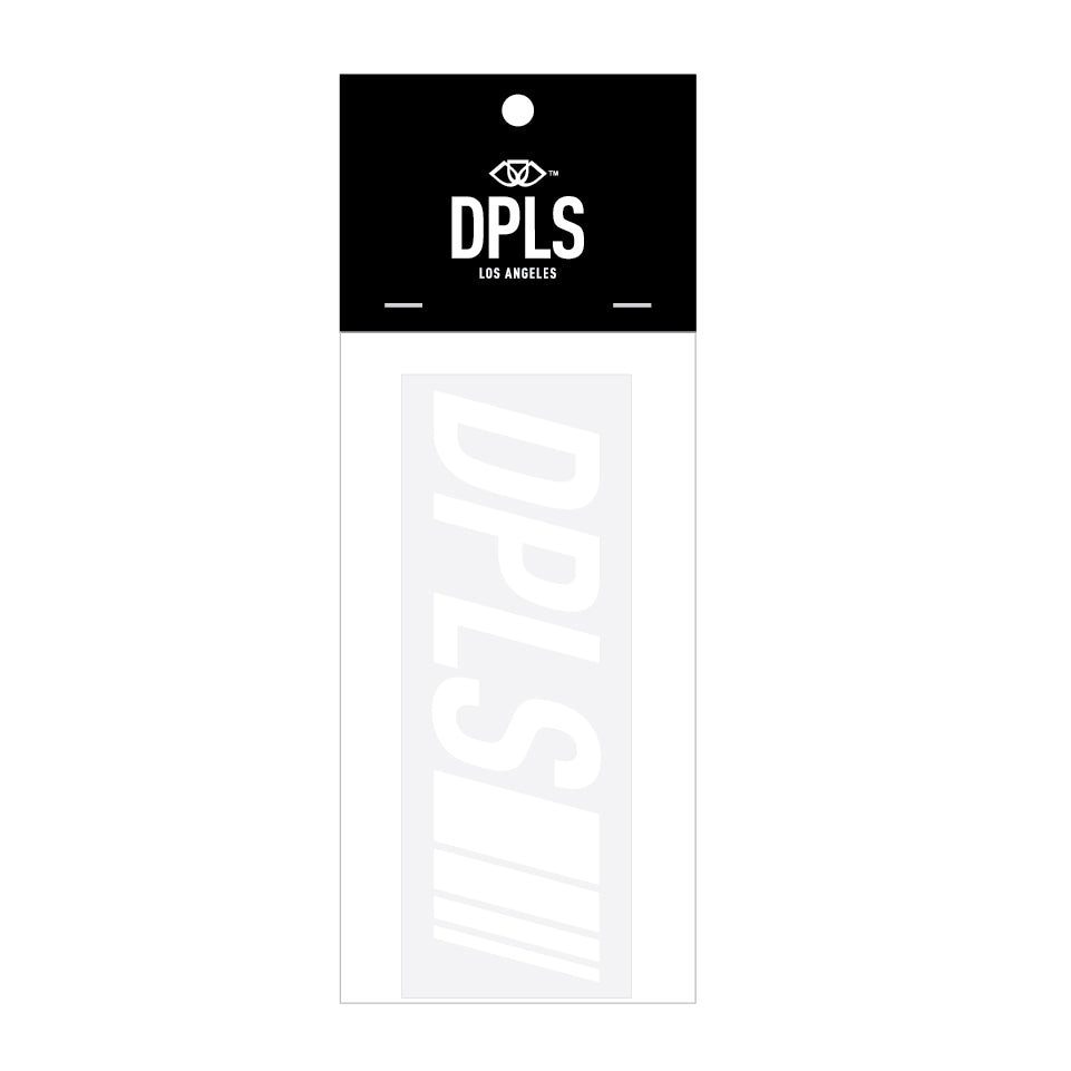DPLS DECAL - WHITE (1472525336647)