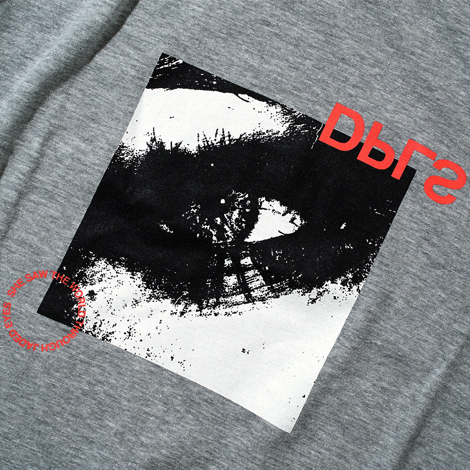 JADED EYES S/S TEE - GRAY