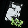 LOVE SICK S/S TEE - BLACK (1565601464391)