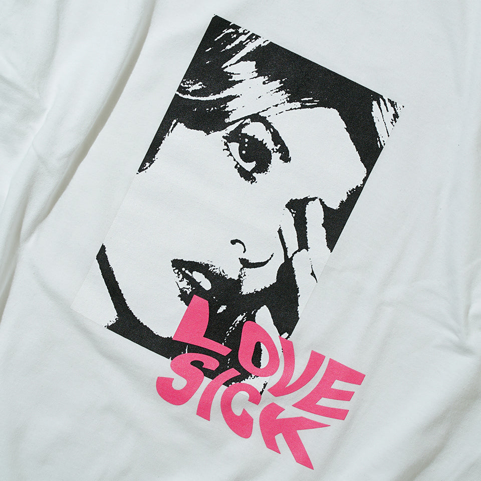 LOVE SICK S/S TEE - WHITE