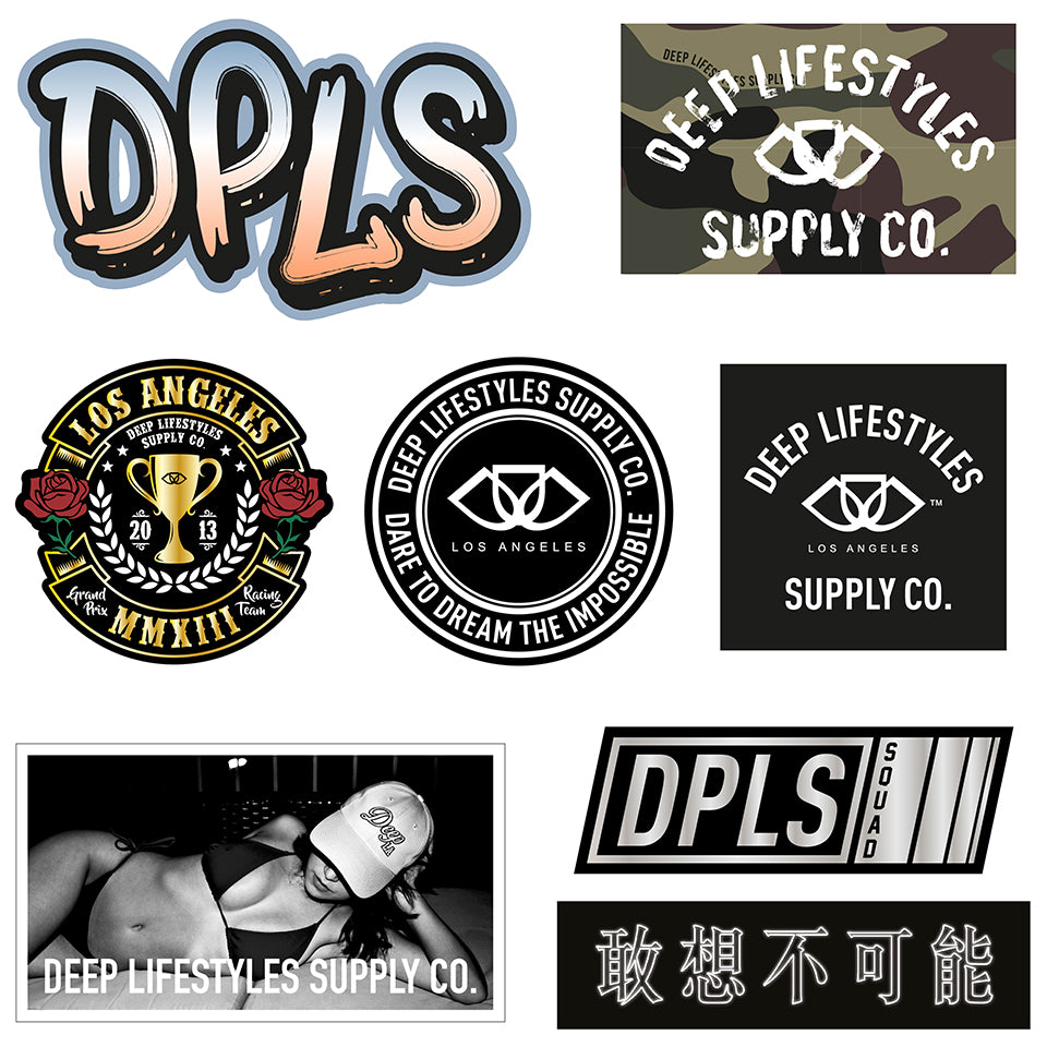 DPLS STICKER SET
