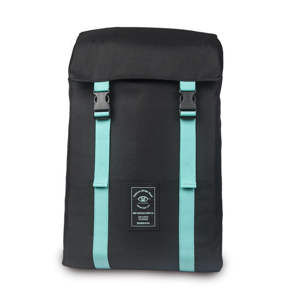 Black and DEEP Aqua Adventure Backpack