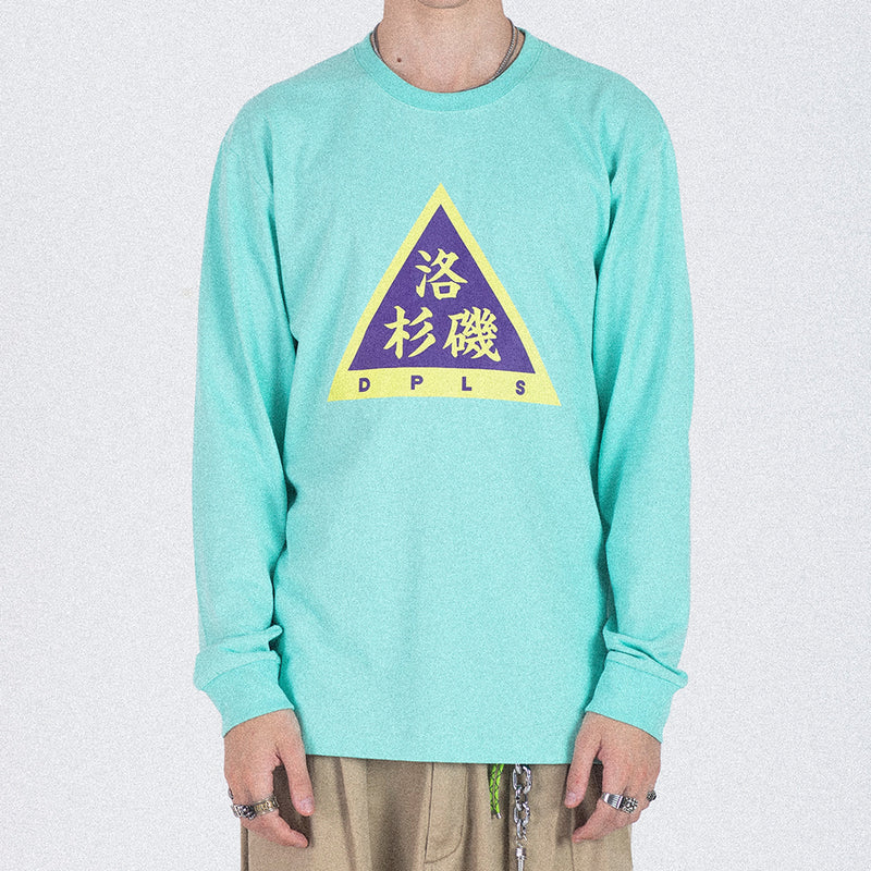 LOS ANGELES LONG SLEEVE TEE - MINT