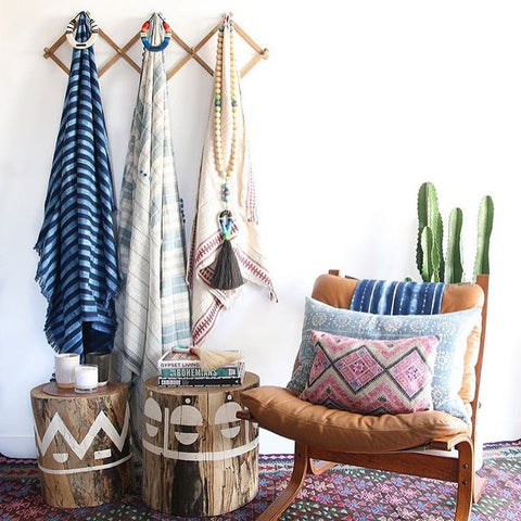 "Amber Lewis Interiors ""Rug and Weave"" Kilim"