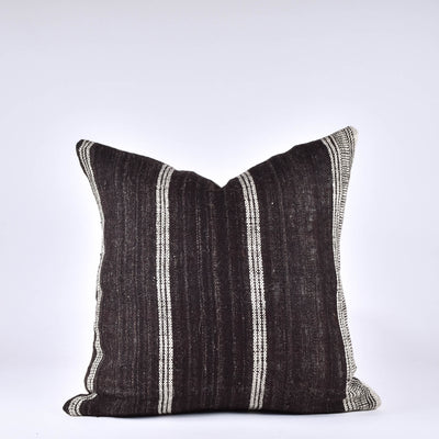 Brown Bhujodi Pillow - Rug & Weave