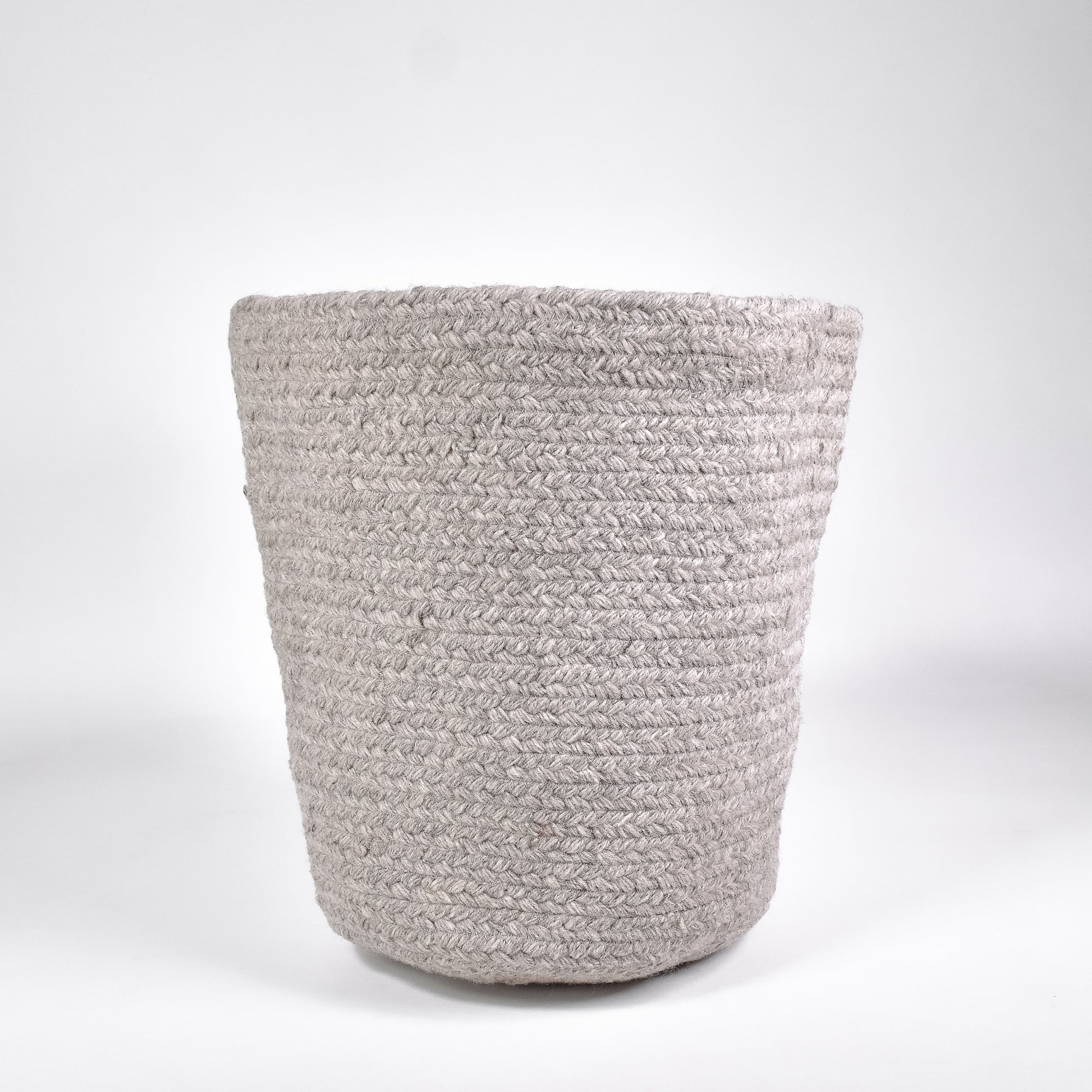 Elgin Grey Basket - Rug & Weave