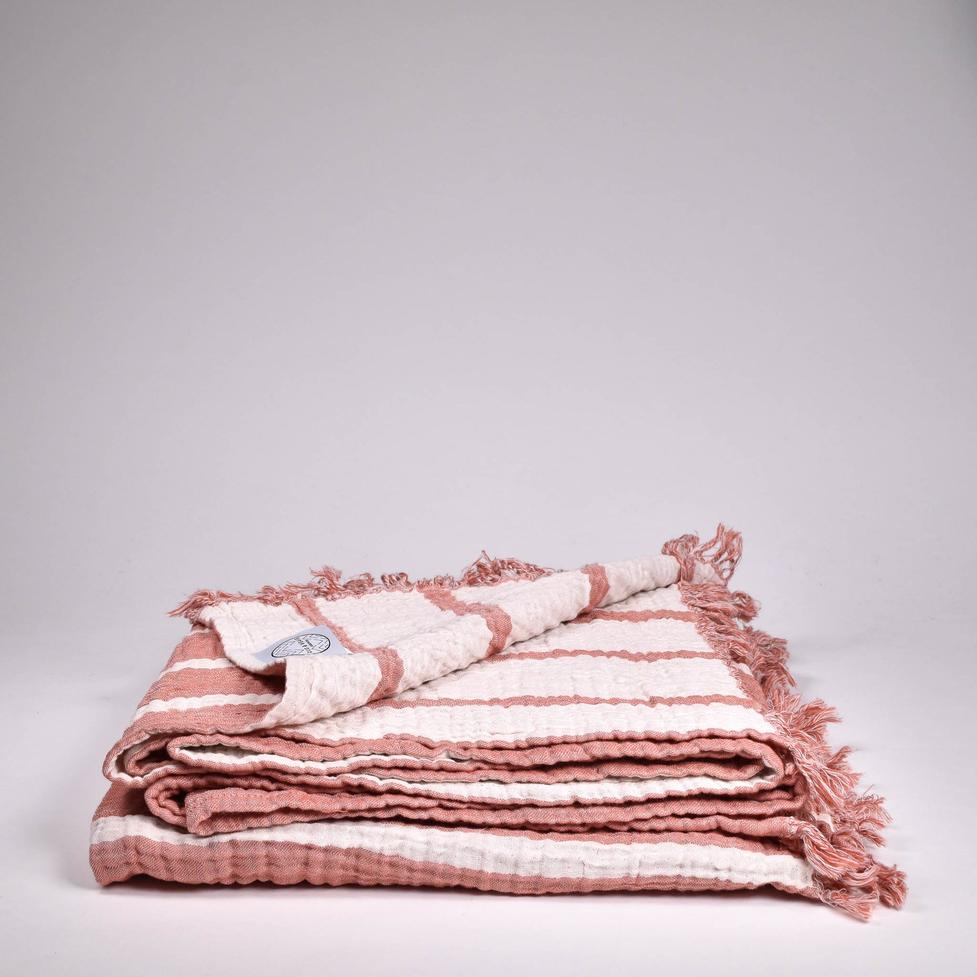 Cocoon Stripe Throw - Rug & Weave