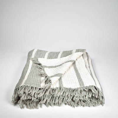 Cocoon Stripe Throw
