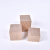 Square White Oak Wall Knob Set of 3 - Rug & Weave