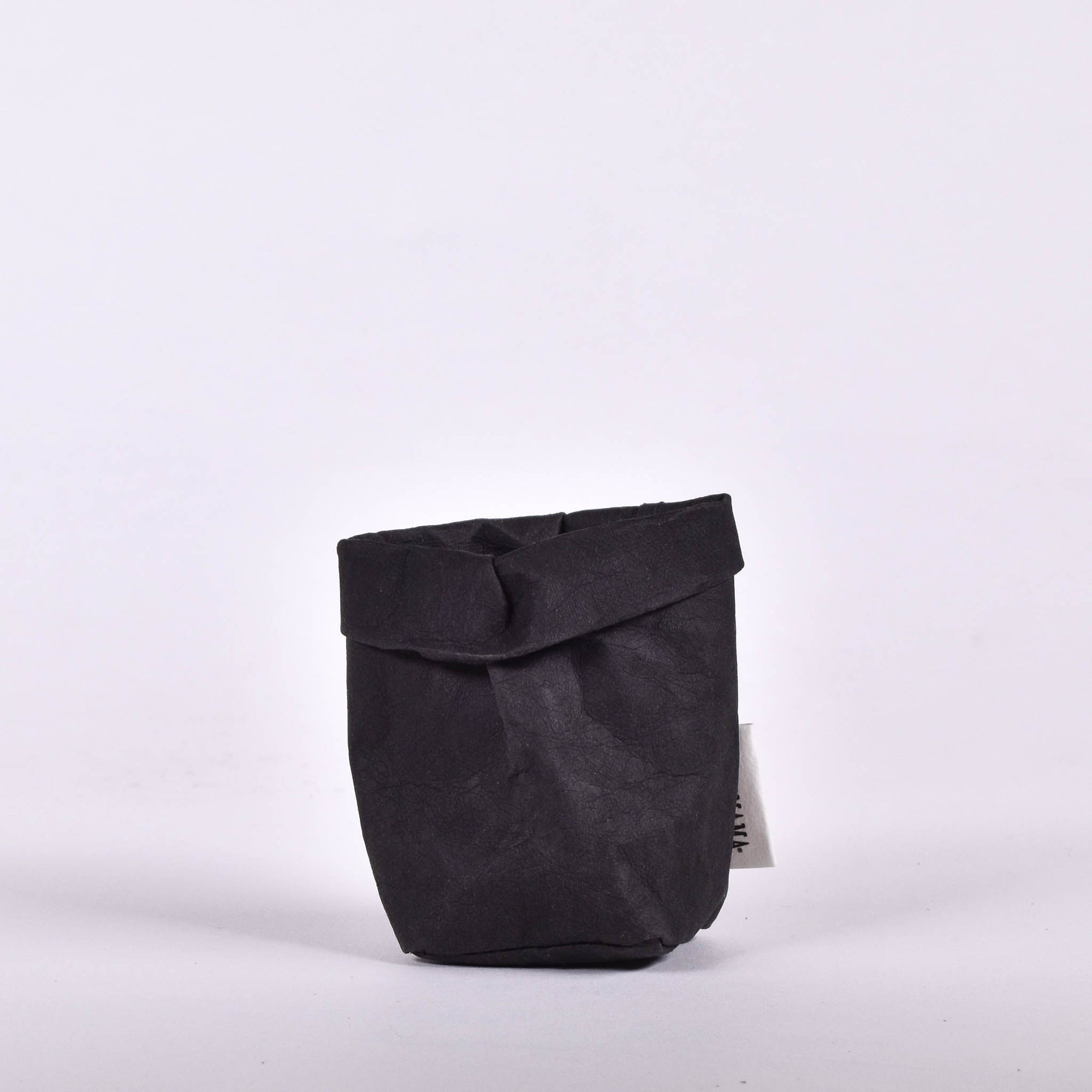 Black Paper Bag - extra small - Rug & Weave