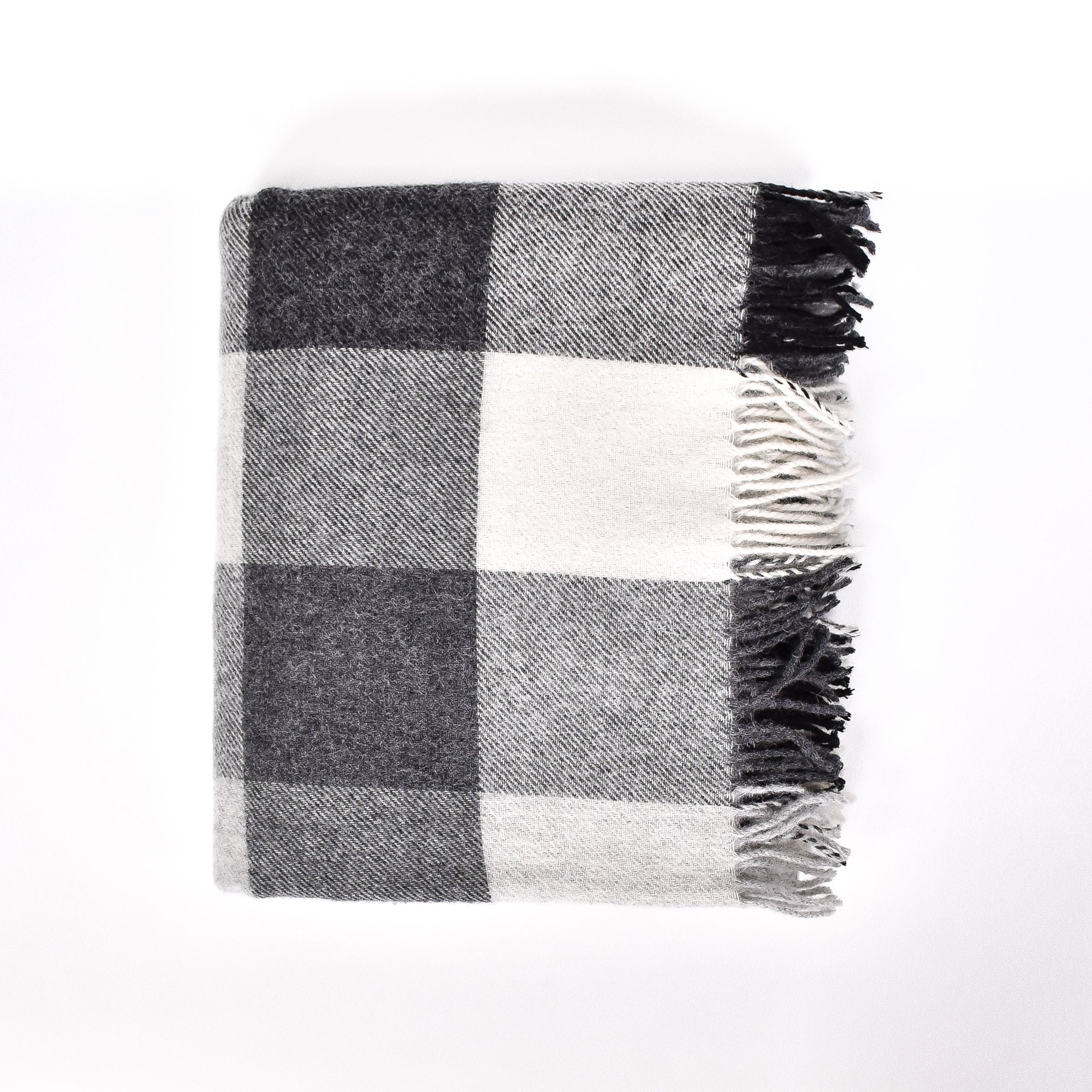 The Ash Wool Blanket - Rug & Weave