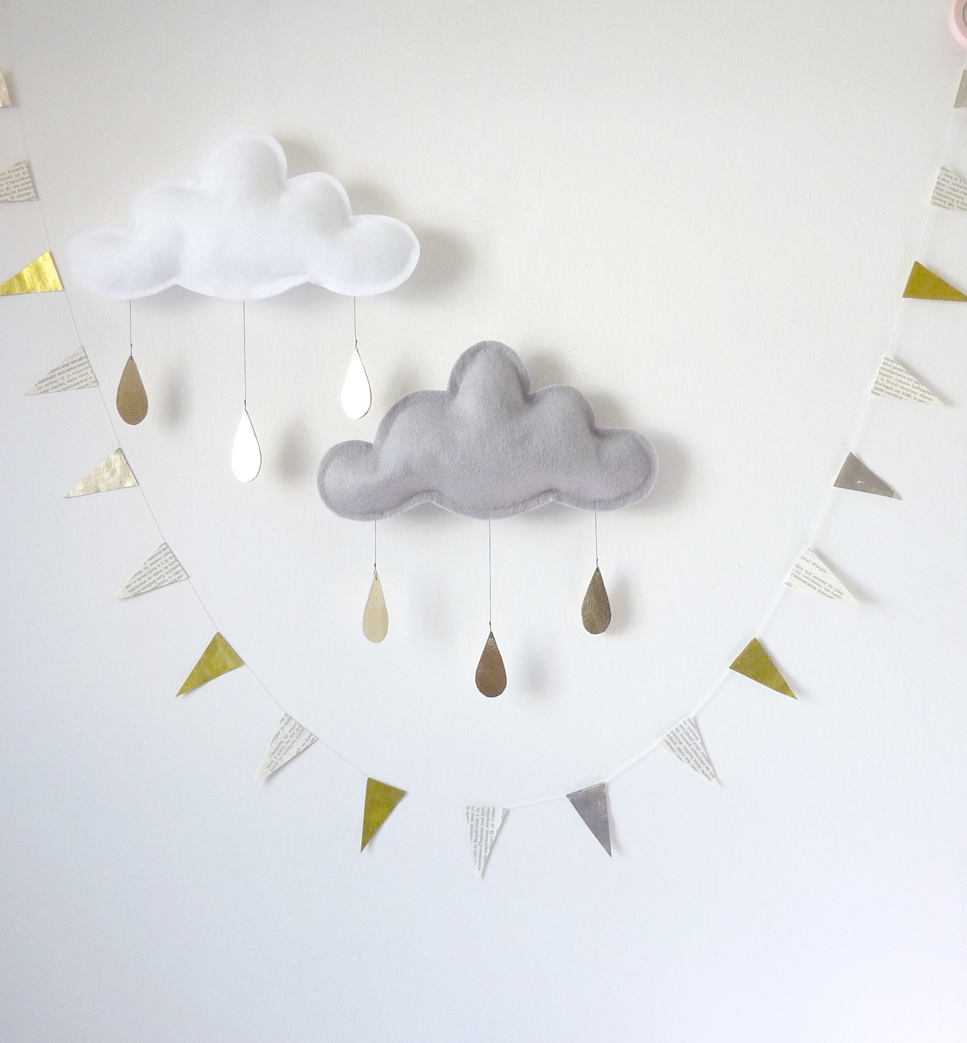 Cloudy Days Wall Hangings - Rug & Weave