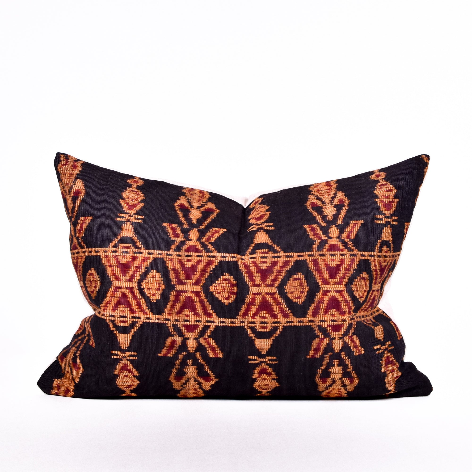 Campfire Ikat Pillow