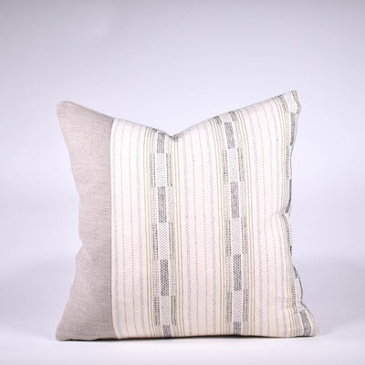 Woven Thai and Linen Pillow - Rug & Weave