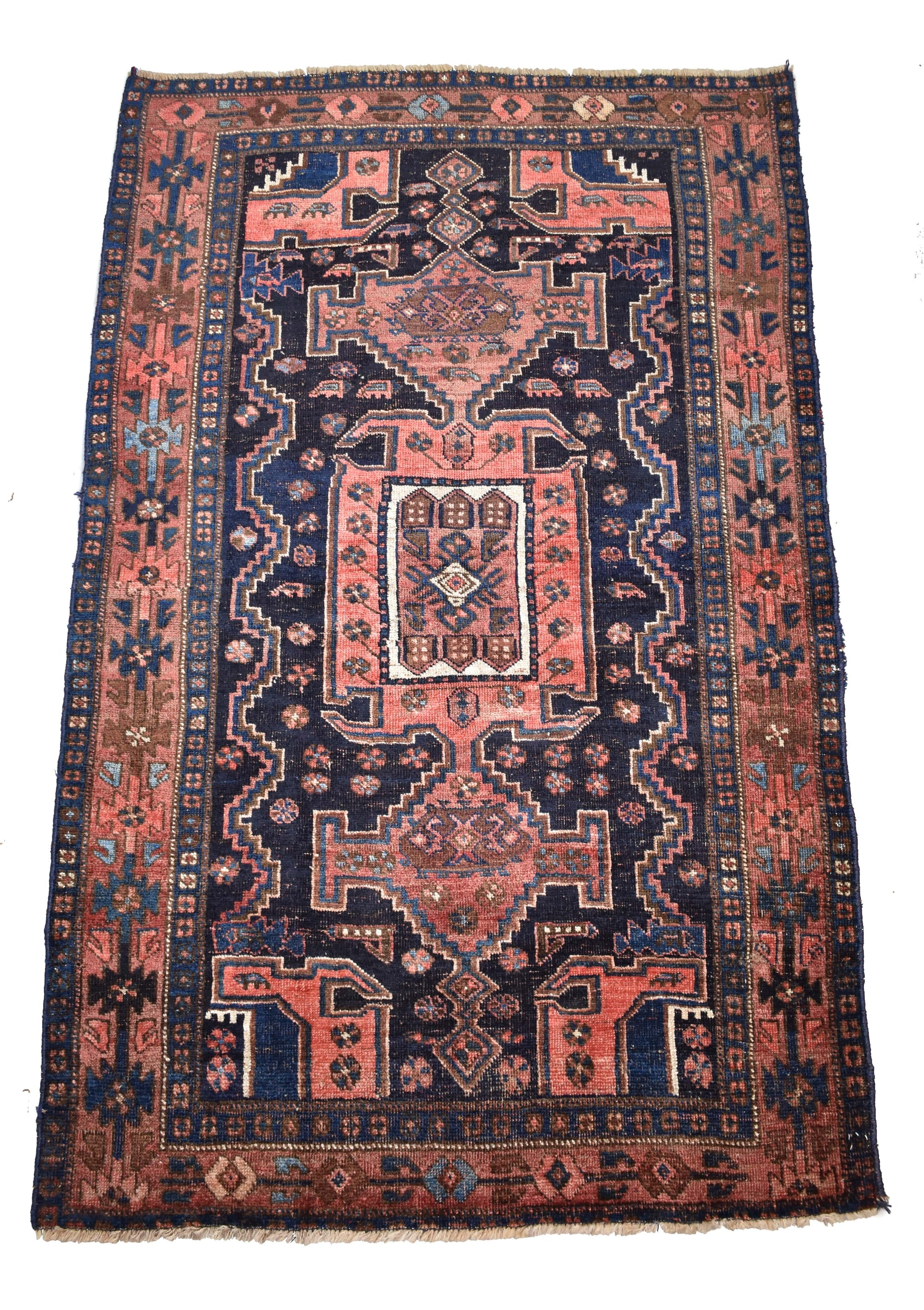 "antique Mayaler 4'0"" x 6'3"" - Rug & Weave"
