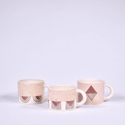 Peach Kettle Valley Short Mug