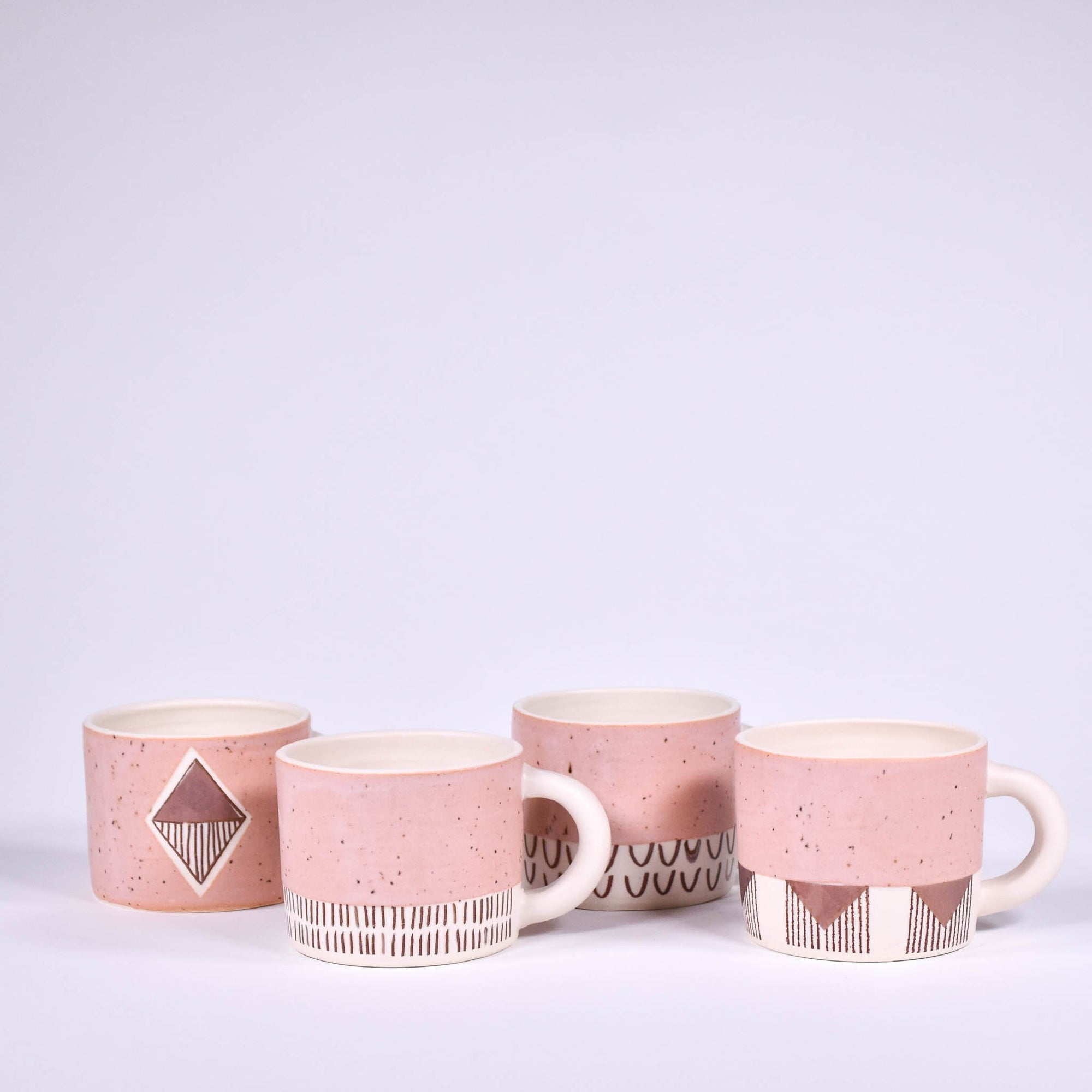 Pink Kettle Valley Short Mug