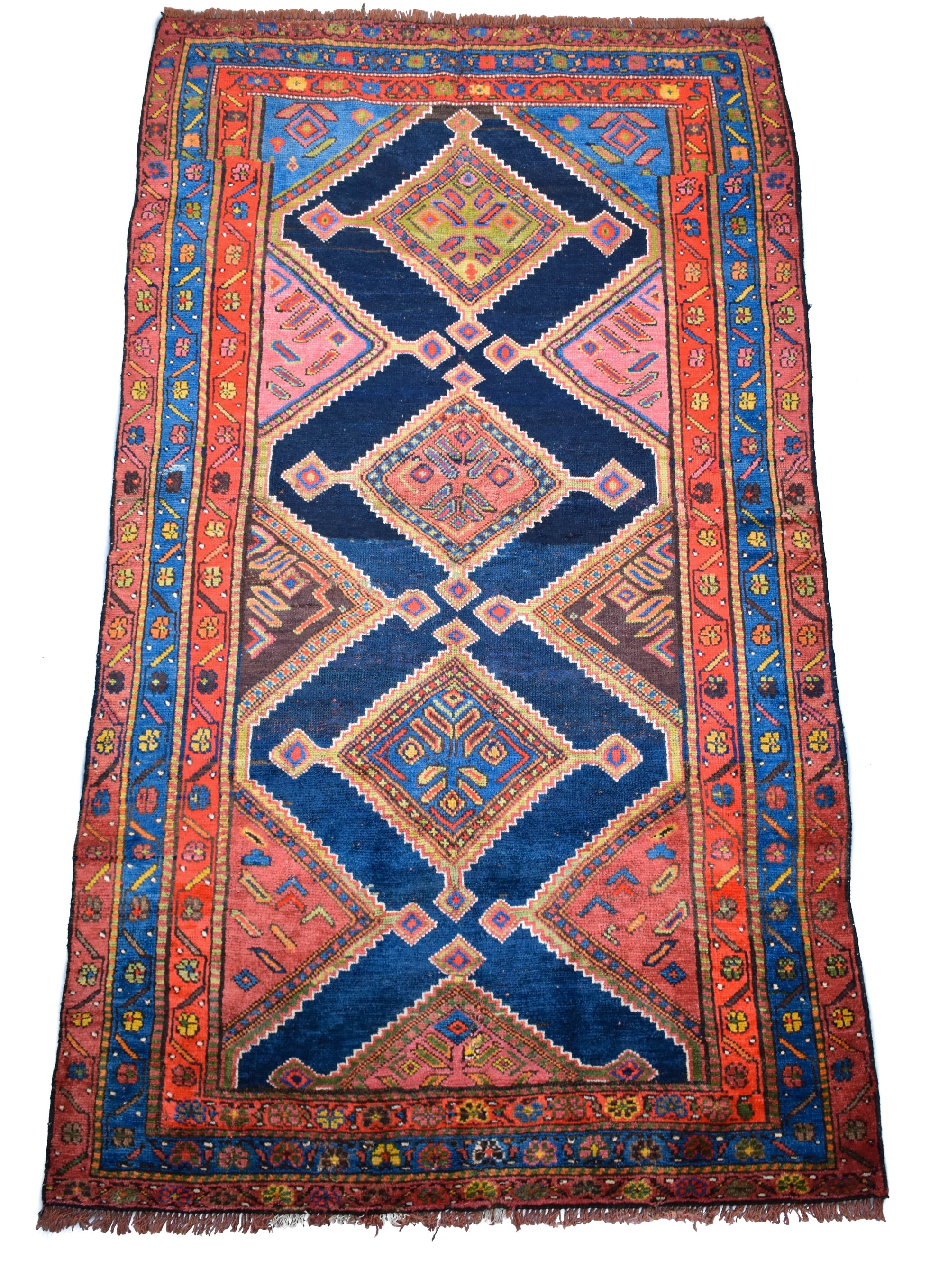 "antique Bidjar 4'1"" x 7'0"""