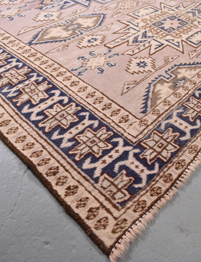 "antique Caucasian 4'0"" x 4'9"" - Rug & Weave"