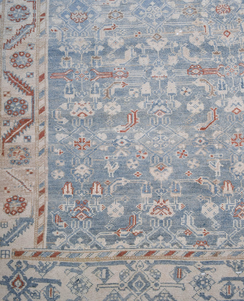 "Vintage Turkish Rug 3'5"" x 13'6"""