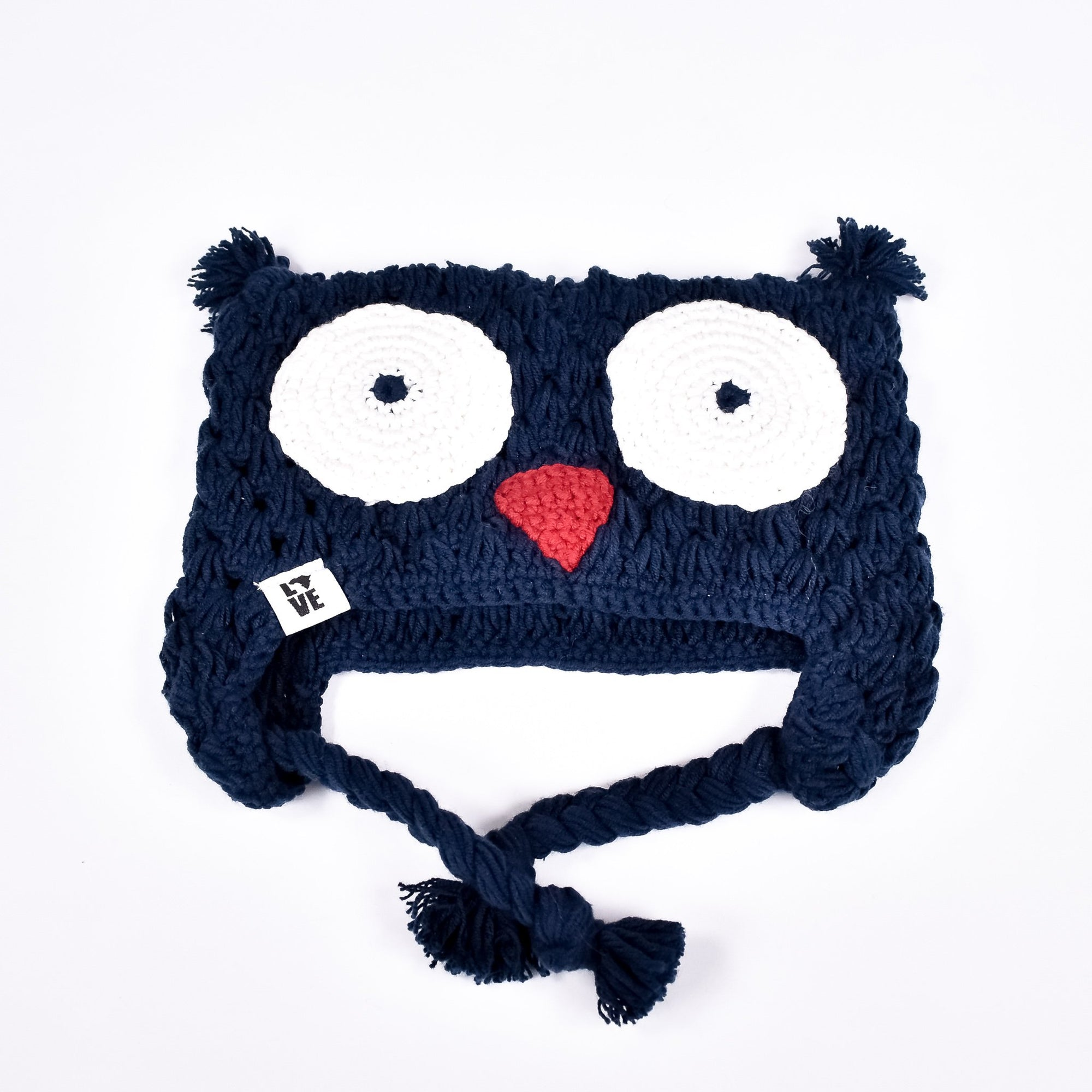 Navy The Hoot - Krochet Kids - Rug & Weave