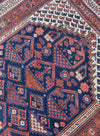 "antique afshar 4'9"" x 6'2"" - Rug & Weave"