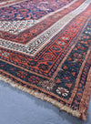 "antique Malayer 4'5"" x 6'7"""