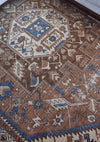 "Reserved for Rachel - Antique Serapi 9'7"" x 13'0"" - Rug & Weave"