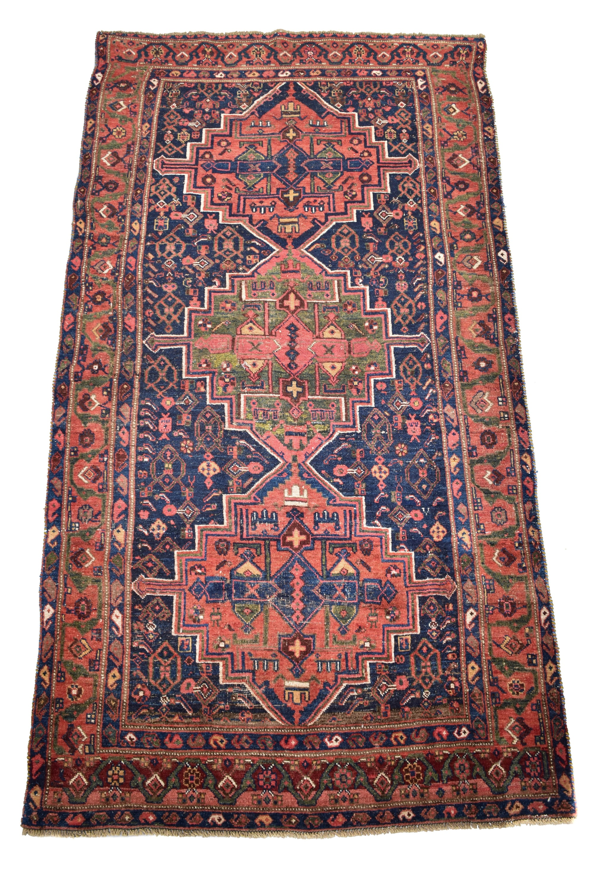 "antique Malayer 4'4"" x 7'10"" - Rug & Weave"