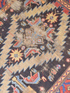 "antique kazak 3'8"" x 5'5"""