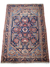 "antique malayer 4'4"" x 6'5"""