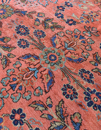 "antique Farahan 9'8"" x 11'9"" - Rug & Weave"